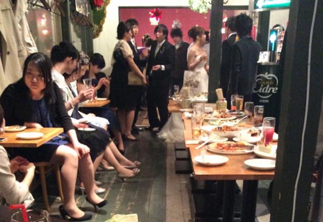 つくば研究学園で結婚式二次会、飲み放題プラン