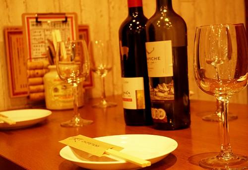 つくば研究学園のイタリアンバル。ディナーにどうぞ。