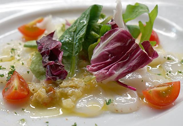 研究学園のイタリアンレストランのイタリア料理
