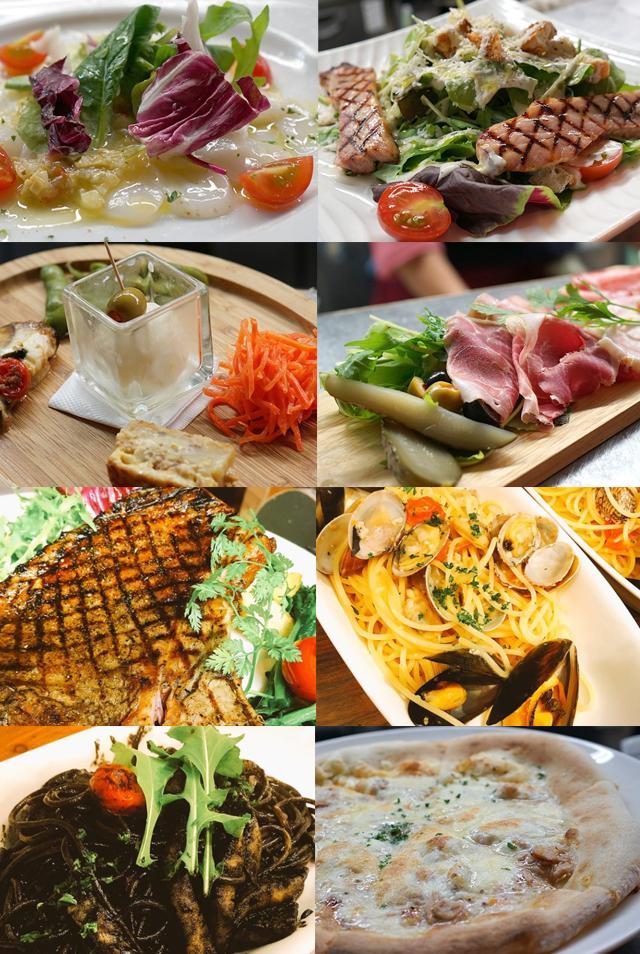 研究学園のイタリアンレストラン