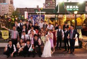 つくば研究学園の「ラフェリーチェ」結婚式披露宴。近くの東京バルタケオで結婚式二次会