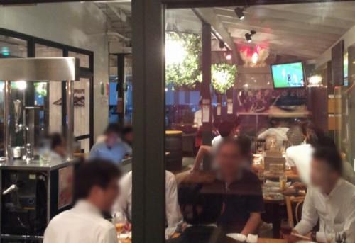 つくば市研究学園のサッカー日本代表戦が観戦できるスポーツバー。