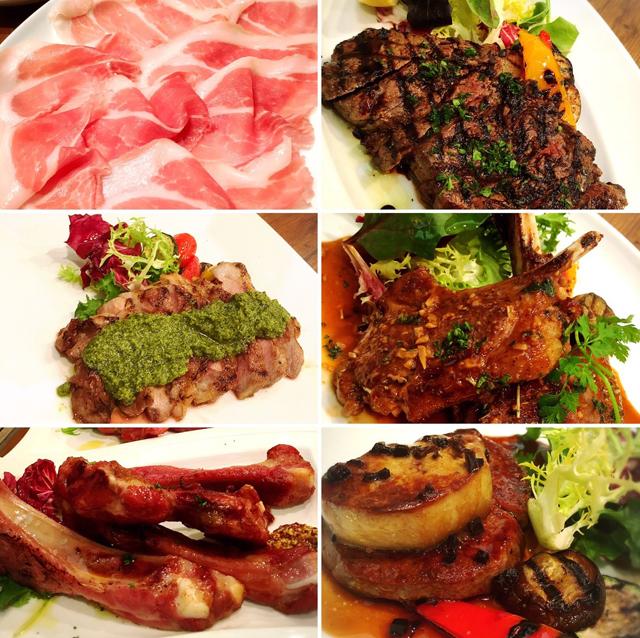 つくばのイタリアンレストラン肉料理