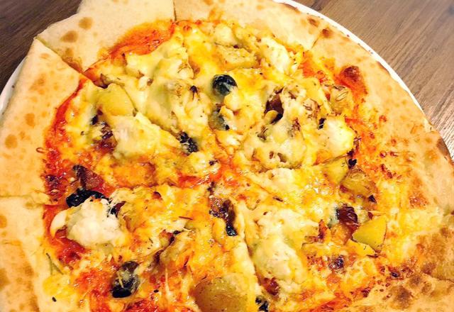 研究学園のイタリアンレストランこだわりピザ